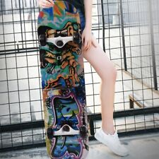 Outdoor Sports 4 Wheel Adult Maple Wood Skateboard Long Board for Entertainment