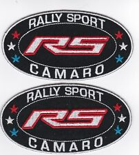 CHEVY RALLY SPORT CAMARO SEW/IRON ON PATCH EMBLEM BADGE EMBROIDERED