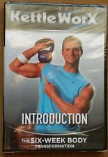 DVD Kettle Worx- INTRODUCTION - 6 Week Body Transformation- Fitness NEW&SEALED