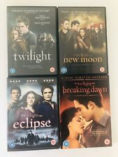 The Twilight Saga,Twilight/New Moon/Eclipse/Breaking Dawn part 1 -DVD Collection