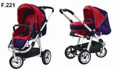 Kombi Kinderwagen Moon Sportwagen Tragetasche Lufträder Aluminium NEU Ausverkauf