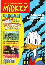 journal De MICKEY n° 2288 24 avril 1996  * revue magazine donald photo musique
