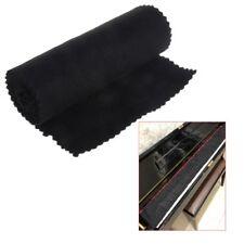 Soft Black Piano Key Cover Keyboard Dust Proof Moisture Flannel Cloth 88 Keys