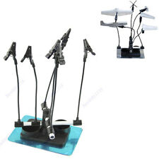 Airbrush & Spray Gun Parts Holder Clips Stand Holds Model Hobby Auto Paint Booth