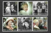 Great Britain Queens 90th Birthday 2016 mnh - Royalty