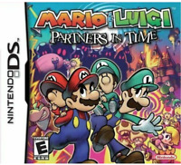 Brand New Sealed: Mario & Luigi: Partners In Time for the Nintendo DS FREE SHIP