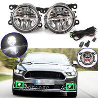 LED Front Fog Light Lamp Wiring Kits For Subaru BRZ Forester Impreza Outback XV