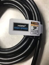 HDMI Cable 6.5ft High Speed 2160p Full HD 3D Audio Return Channel