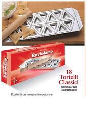 Stampo ravioli Imperia raviolamp stampi 18 tortelli classici triangolari - Rotex
