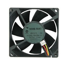 Panaflo NMB-MAT FBA08A12H1BX Hydro Wave Bearing 80mm Fan with 3-Pin Connector