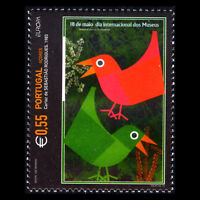"""Azores 2003 - EUROPA Stamps """"Poster Art"""" - Sc 473 MNH"""
