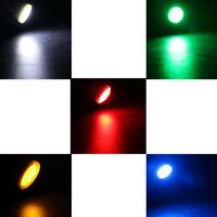 10pcs LED T10 COB W5W 168 Wedge Door Instrument Side Bulb Lamp Car Light HO