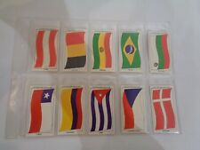 Vintage Sun Soccercards Flags of Soccer Nations 941 to 950 - set of 10