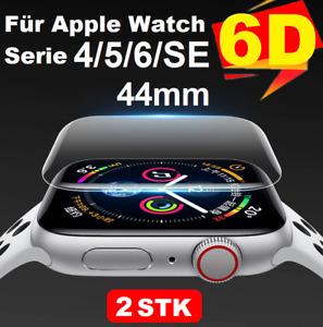 🚨2xSoft-Hydrogel Displayschutzfolie für Apple Watch 4/5/6 44mm Panzerfolie 9H🚨