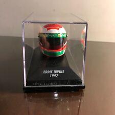 MINICHAMPS 1:8 SCALE Eddie Irvine Helmet, Scuderia Ferrari 1997