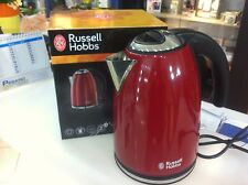 RUSSELL HOBBS ROSSO 18943-70 BOLLITORE CLASSIC 2.2KW NUOVO