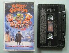 Muppet Christmas Carol Soundtrack ST ~ 1992 Cassette Tape WORKS BMG Music Henson