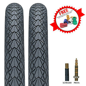 Nutrak Mileater Bike Tyre with Reflective Stripe & Puncture Protection
