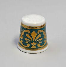 Kämmer PORCELLANA ditale Fiore Ornament ORO/VERDE 2,5x2,6cm 88234