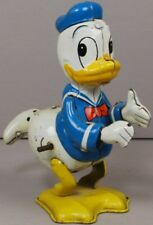 Disney Marx LINEMAR 1950s DONALD DUCK Tin Wind Up Twirling Whirling Tail Nice