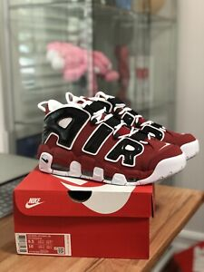 Nike Air More Uptempo Bulls Hoops Pack 96 921948-600 - Size 8.5 *IN HAND*