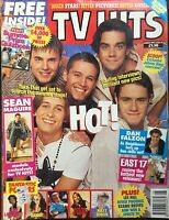 HOT! / JOHNNY DEPP / DANNII MINOGUE / RIVER PHOENIX 1993 TV HITS Magazine