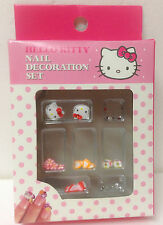 Sanrio Hello Kitty Nail Art Deco Kit Set kawaii harajuku