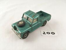 CORGI TOYS # 438 LAND ROVER 109 SERIES II ORIGINAL DIECAST METALLIC GREEN 1970