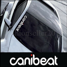 Reflective Canibeat Front Windshield Side Decal Vinyl Car Stickers Auto Modified