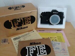 Nikon FE OVP BOX Guter Zustand Good Conditions