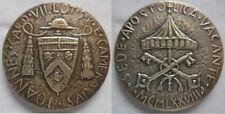 Vaticano medaglia 1° sede vacante 1978 argento