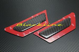 For 2017-2018 Audi B9 A4 S4 Quattro Carbon Fiber Bumper Side Marker Pair