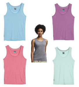 Icebreaker Cool-Lite Sphere Tank Stripe - 135 G/M ² - Tank Ladies