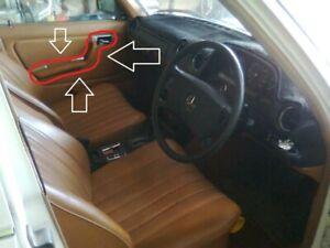 Mercedes Benz 280-E (W123) Interior Door Handles & Latch Frames (Complete Set)