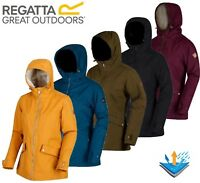 REGATTA LADIES / WOMENS WATERPROOF INSULATED BRIENNA JACKET