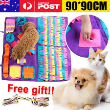 Dog Pet Snuffle Mat Nose Training Sniffing Pad Toys Feeding Cushion Blanket Game