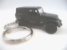 2014 Jeep Wrangler Black Off Road Key Chain '14 Jeep Keychain