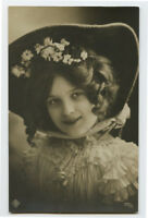 c 1910 Children Child PRETTY LITTLE GIRL photo postcard