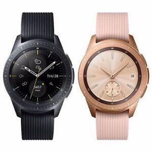 Samsung Galaxy Bluetooth Watch 42mm in Black/Rose Gold - Fast and Free Delivery