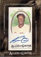 2017 Topps Allen and Ginter Framed Mini Autograph Singles (Pick Your Cards)