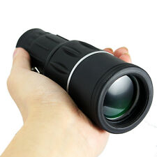 16x52 Monocular Telescope Dual Focus Zoom Optic Lens For Hunting Camping Outdoor