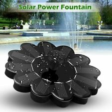 Solar Power Fountain Garden Pond Watering Kit Water Pump Floating Panel Tools