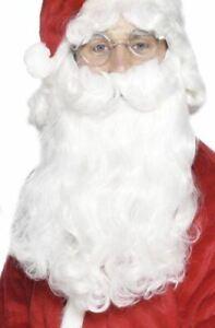 Deluxe Santa Beard Christmas Fancy Dress Party Accessory
