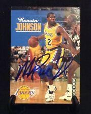MAGIC JOHNSON AUTOGRAPHED CARD