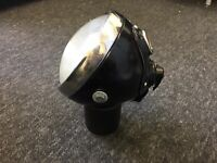 "new Lucas DU42 6 1/2"" Headlight headlamp bsa triumph norton matchless velocette"