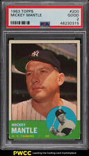 1963 Topps Mickey Mantle #200 PSA 2 GD