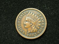 NEW INVENTORY!!  AU 1883 INDIAN HEAD CENT PENNY w/ FULL LIBERTY & DIAMONDS #142s