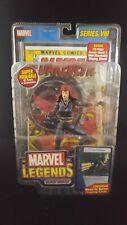 BLACK WIDOW Marvel Legends Series 8 Toy Biz MIP AVENGERS 2004 Stand Comic