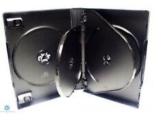 1 x 6 VIE 26 mm DVD Nero Spina Dorsale contiene 6 DISCHI VUOTI NUOVI sostituzione caso HQ AAA