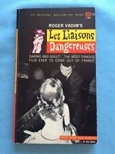 LES LIAISONS DANGEREUSES - MOVIE TIE-IN EDITON SIGNED BY ACTRESS JEAN MOREAU